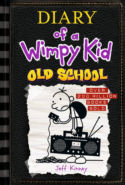 Book Cover:  Old School: Diary of a Wimpy Kid: Book 10