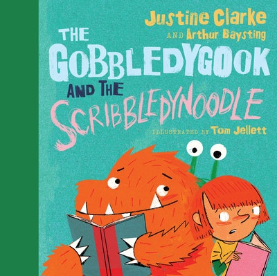 Book Cover:  Gobbledygook And The Scribbledynoodle, The