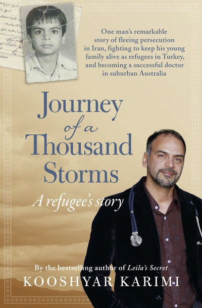 Book Cover:  Journey of a Thousand Storms