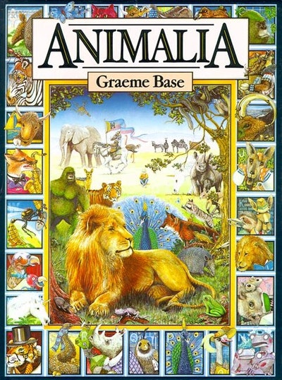 Book Cover:  Animalia