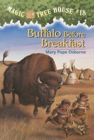 Magic Tree House 18 Buffalo Before Breakfast