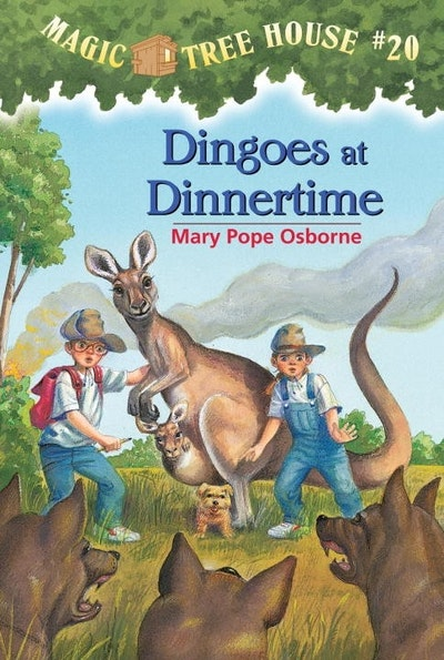 Magic Tree House 20 Dingoes At Dinnertime