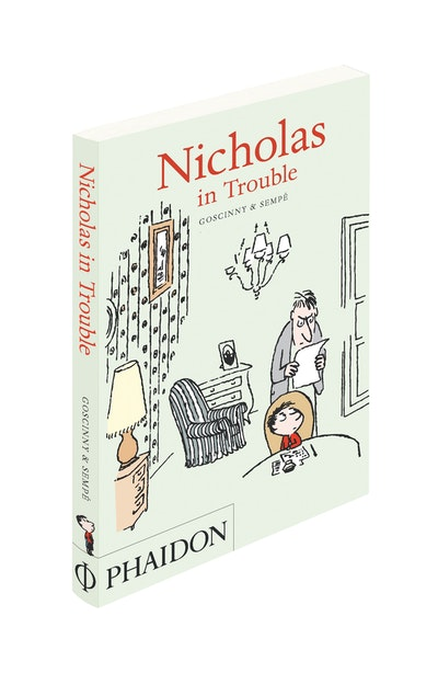 Book Cover:  Nicholas in Trouble