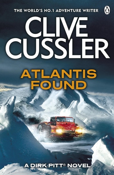 Book Cover:  Atlantis Found: Dirk Pitt