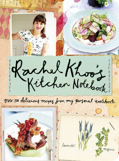 Book Cover:  Rachel Khoo's Kitchen Notebook