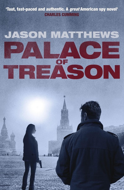 Book Cover:  Palace of Treason