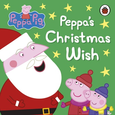 Book Cover:  Peppa Pig: Peppa's Christmas Wish
