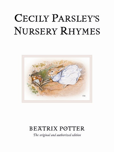 Book Cover:  Cecily Parsley's Nursery Rhymes
