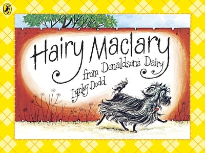 Book Cover:  Hairy Maclary from Donaldson's Dairy