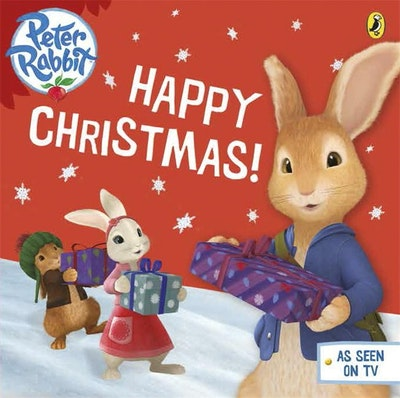 Book Cover:  Peter Rabbit Animation: Happy Christmas!