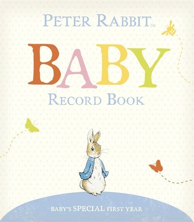 Book Cover:  Peter Rabbit Baby Record Book