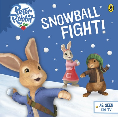 Book Cover:  Peter Rabbit Animation: Snowball Fight!