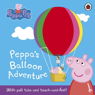 Book Cover:  Peppa Pig: Peppa's Balloon Adventure
