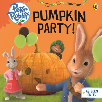 Book Cover:  Peter Rabbit Animation: Pumpkin Party!