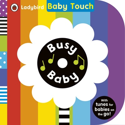 Book Cover:  Ladybird Baby Touch: Busy Baby (book and audio CD)