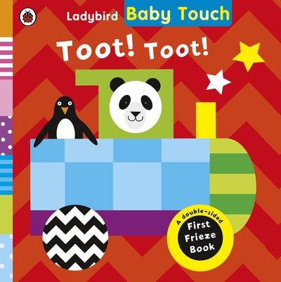 Ladybird Baby Touch: Toot! Toot! A Fold-Out Frieze Book
