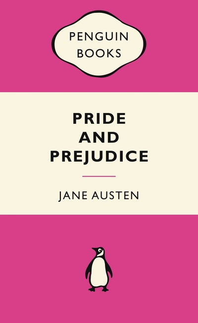 Book Cover:  Pride and Prejudice Pink Popular Penguin