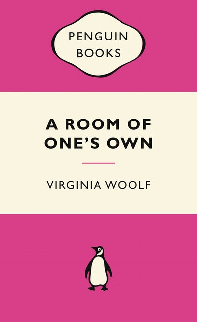 Book Cover:  Room of One's Own Pink Popular Penguin