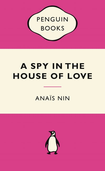 Book Cover: A Spy In The House Of Love: Pink Popular Penguins