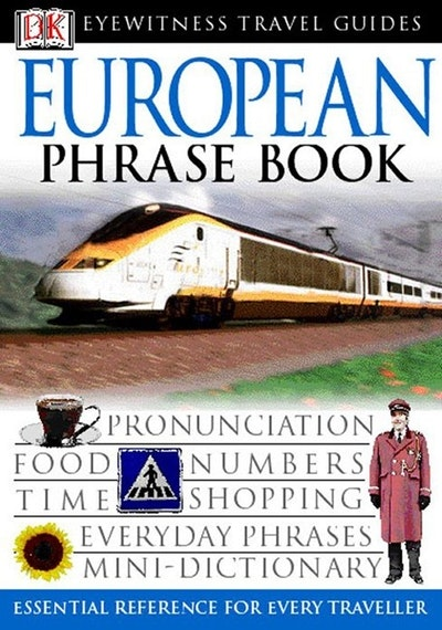 European Phrase Book: Eyewitness Travel Guide