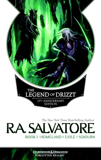 The Legend Of Drizzt 25th Anniversary Edition, Book 1
