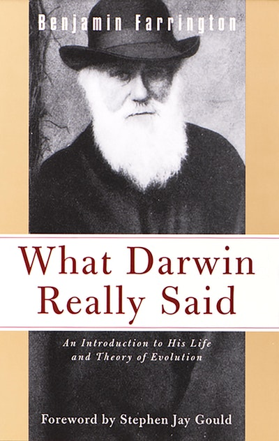 What Darwin Really Said