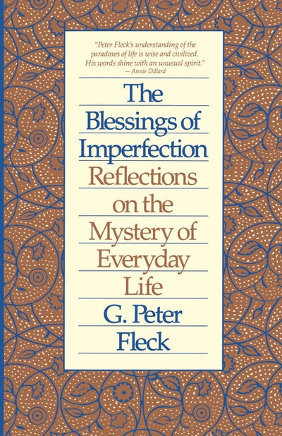Blessings Of Imperfection