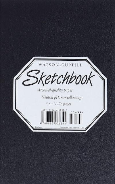 Small Sketchbook (Kivar, Black)