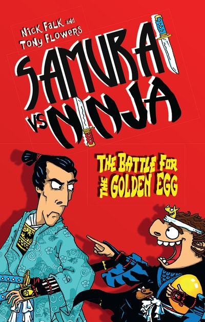 Samurai vs Ninja 1: The Battle for the Golden Egg