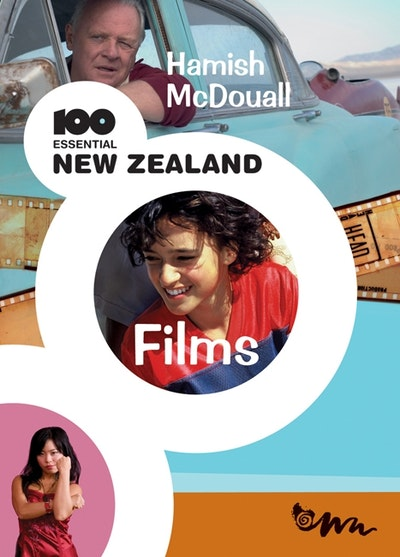 Book Cover:  100 Essential New Zealand Films