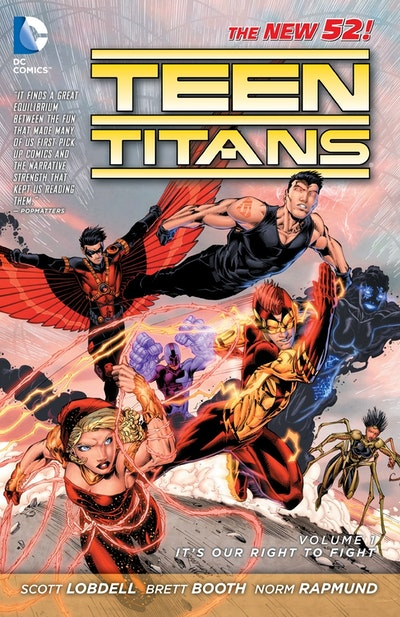 Teen Titans Vol. 1 It's Our Right To Fight (The New 52)