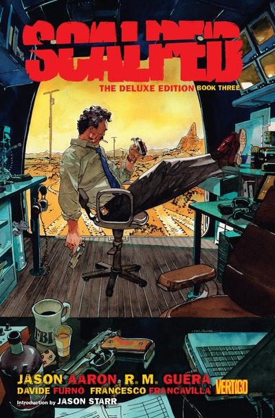 Scalped Deluxe Edition Book Three