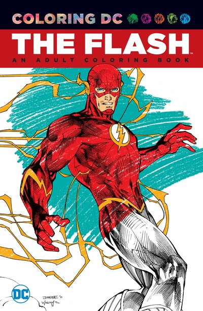 Flash: An Adult Coloring Book