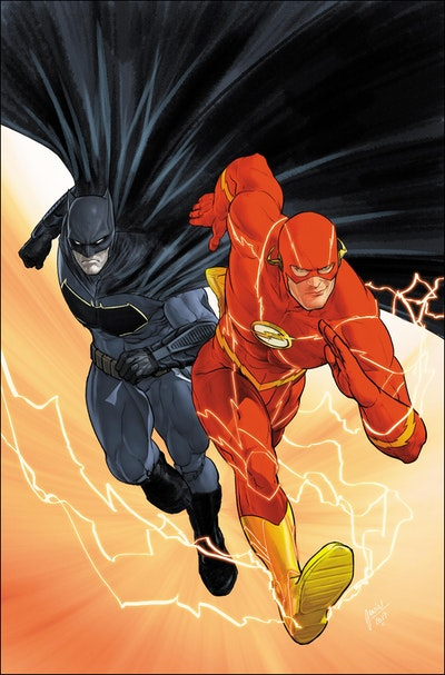 Batman/The Flash The Button Deluxe Edition (International Version)