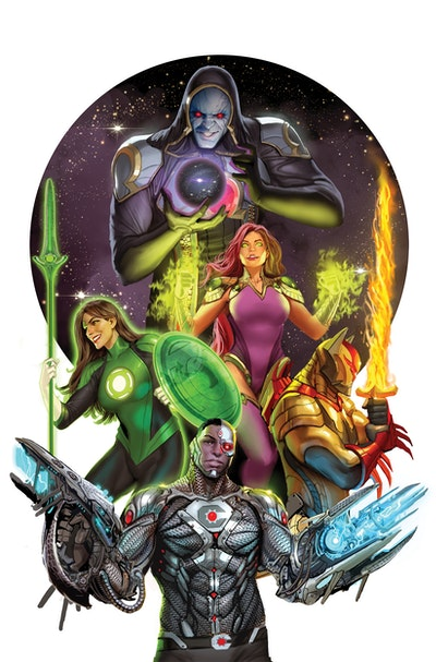 Justice League Odyssey Vol. 1 The Ghost Sector