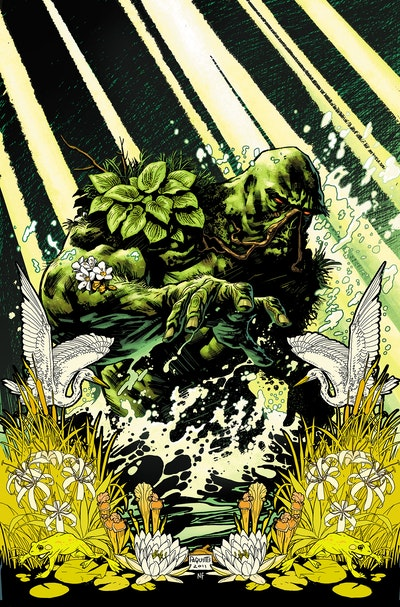 Swamp Thing Protector Of The Green (Dc Essential Edition)