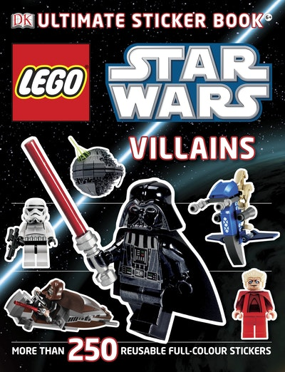 Lego® Star Wars Villains~ Ultimate Sticker Book