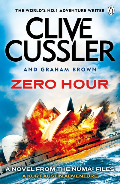 Book Cover:  Zero Hour: NUMA Files