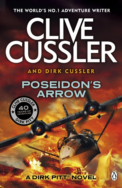 Book Cover:  Poseidon's Arrow: A Dirk Pitt Adventure