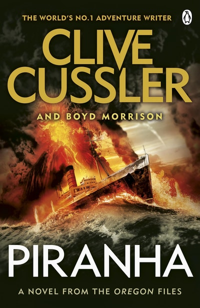 Book Cover:  Piranha: Oregon Files