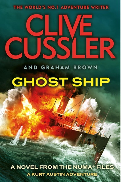 Book Cover:  Ghost Ship: NUMA Files
