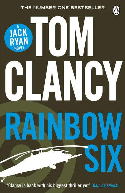 Book Cover:  Rainbow Six