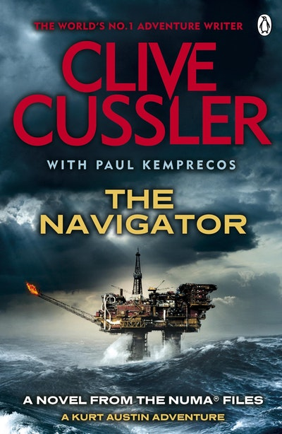 Book Cover: The Navigator: NUMA Files