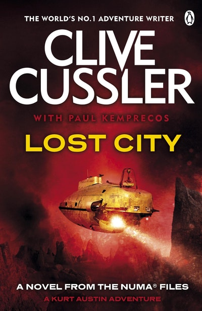 Book Cover:  Lost City: NUMA Files