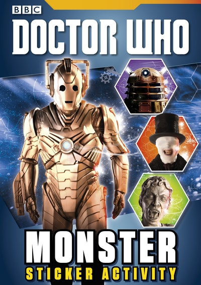 Doctor Who~ Monster Sticker Activity Book