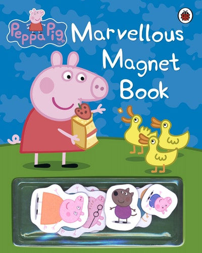 Book Cover:  Peppa Pig: Marvellous Magnet Book
