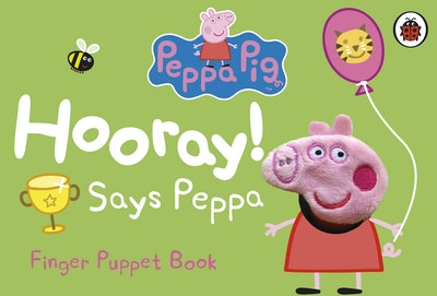 Peppa Pig: Hooray! Says Peppa: Finger Puppet Book