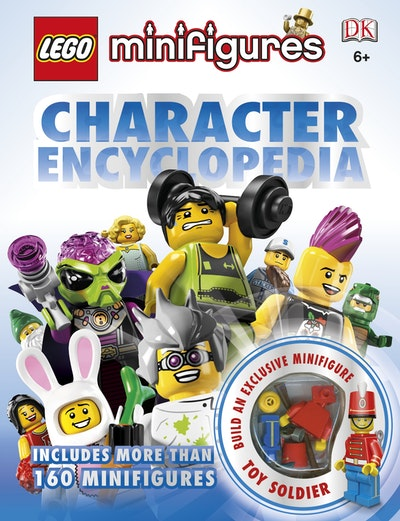 Book Cover:  LEGO® Minifigures Character Encyclopedia