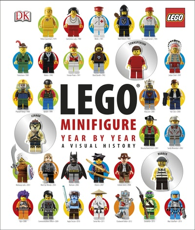 Lego® Minifigure~ Year By Year~ A Visual Chronicle