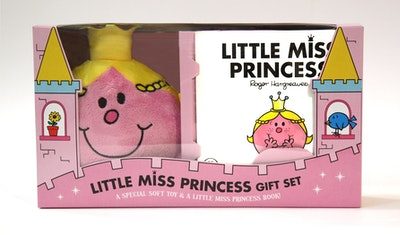 Book Cover:  Mr Men and Little Miss: Little Miss Princess Book and Plush Gift Set